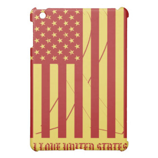 I love United States - Hope Ribbon Reusable iPad Mini Covers
