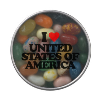 I LOVE UNITED STATES OF AMERICA CANDY TIN
