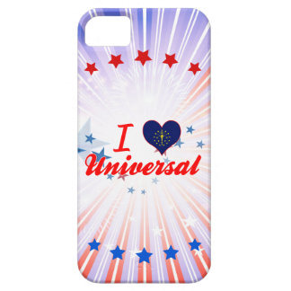 I Love Universal, Indiana iPhone 5 Cover