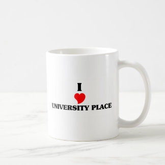 I love University Place Classic White Coffee Mug