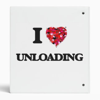 I love Unloading Vinyl Binder