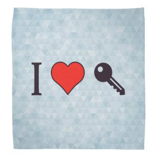 I Love Unlocking My Dreamhouse Bandana