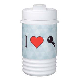 I Love Unlocking My Dreamhouse Beverage Cooler