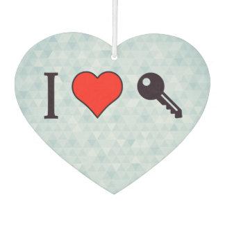 I Love Unlocking My Dreamhouse Car Air Freshener