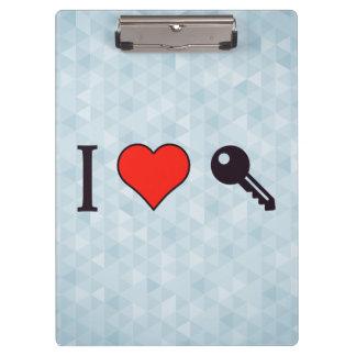 I Love Unlocking My Dreamhouse Clipboard