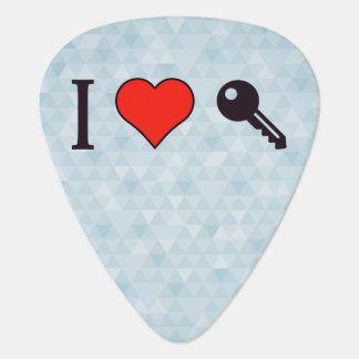 I Love Unlocking My Dreamhouse Guitar Pick
