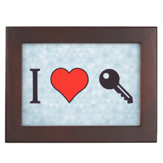 I Love Unlocking My Dreamhouse Memory Box