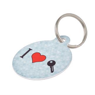 I Love Unlocking My Dreamhouse Pet ID Tag