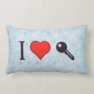 I Love Unlocking My Dreamhouse Pillow
