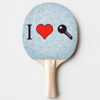 I Love Unlocking My Dreamhouse Ping-Pong Paddle