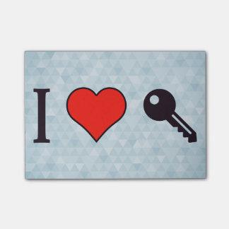 I Love Unlocking My Dreamhouse Post-it® Notes