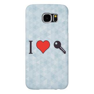 I Love Unlocking My Dreamhouse Samsung Galaxy S6 Cases