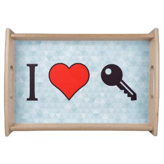 I Love Unlocking My Dreamhouse Serving Tray