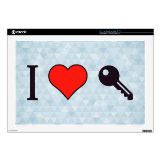 "I Love Unlocking My Dreamhouse Skin For 17"" Laptop"
