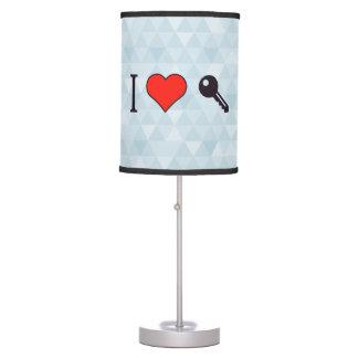 I Love Unlocking My Dreamhouse Table Lamp