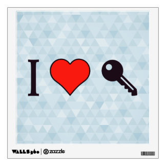 I Love Unlocking My Dreamhouse Wall Decal