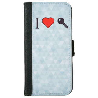 I Love Unlocking My Dreamhouse Wallet Phone Case For iPhone 6/6s