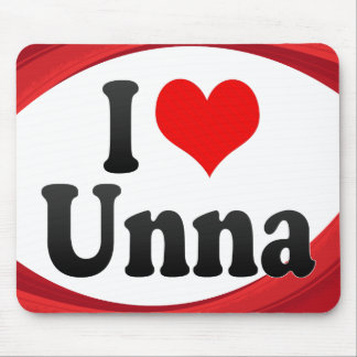 I Love Unna Germany Ich Liebe Unna Germany Mousepads