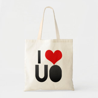 I Love UO Tote Bags