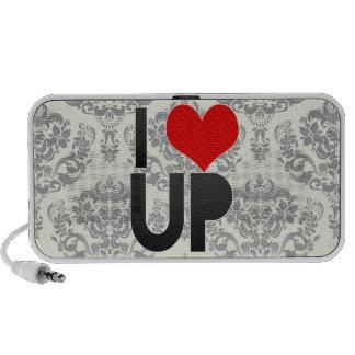 I Love UP Notebook Speaker