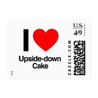i love upside down cake stamps