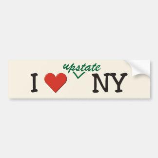 I love UPSTATE NY Bumper Sticker