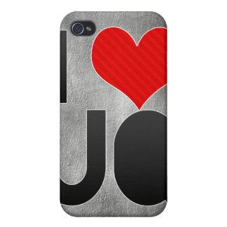 I Love UQ iPhone 4/4S Case