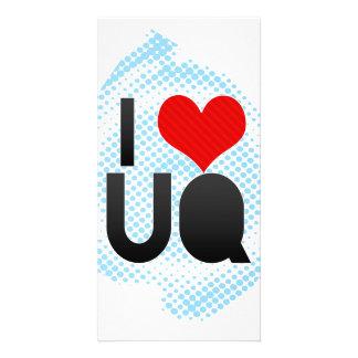 I Love UQ Personalized Photo Card