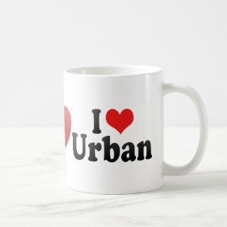 I Love Urban Coffee Mug