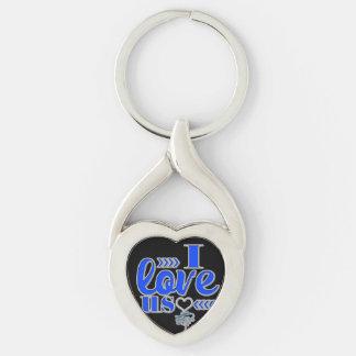 I love Us Keychain Romance Keychains