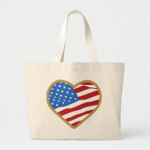 I Love USA Bags & Totes bag