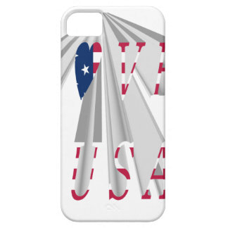 I LOVE USA iPhone 5 COVER