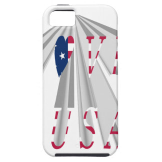 I LOVE USA iPhone 5 CASES