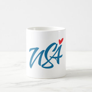 I love USA Coffee Mug