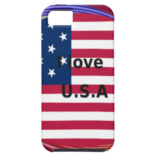 I LOVE USA iPhone SE/5/5s CASE