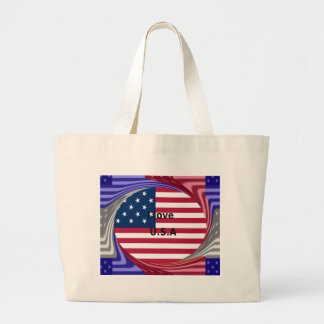 I LOVE USA LARGE TOTE BAG