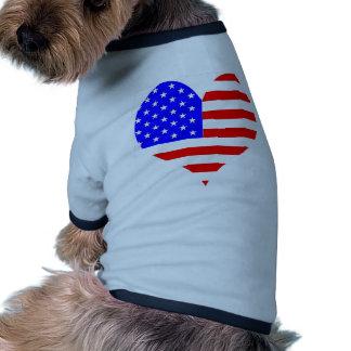 I Love USA Products & Designs! Dog Shirt