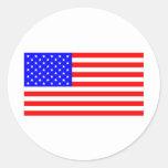 I Love USA Products & Designs! Round Sticker