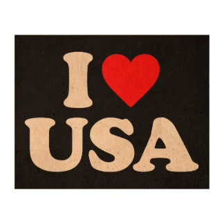 I LOVE USA CORK PAPER