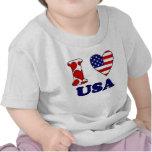 I love USA Tshirts