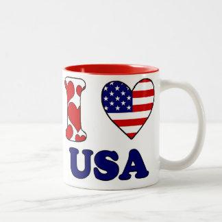 I love USAS Two-Tone Coffee Mug