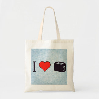 I Love Using A Toaster Tote Bag