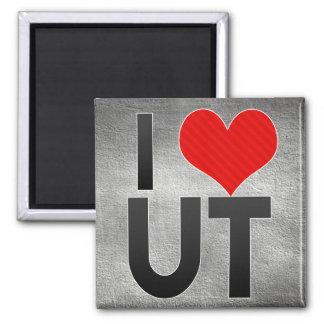 I Love UT Fridge Magnet