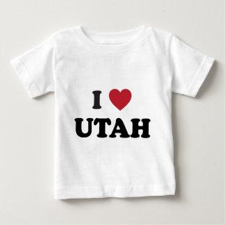 I Love Utah Baby T-Shirt