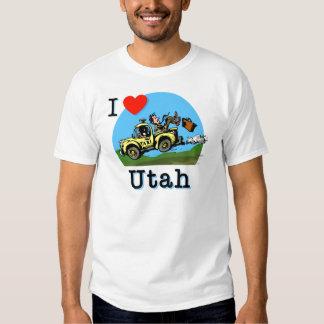 I Love Utah Country Taxi Shirt