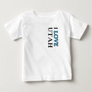I Love Utah Design Baby T-Shirt