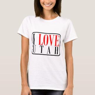 I Love Utah Design T-Shirt