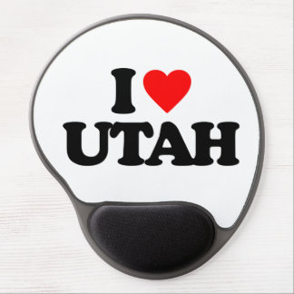 I LOVE UTAH GEL MOUSE PAD
