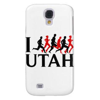 I LOVE UTAH, I RUN UTAH SAMSUNG GALAXY S4 COVER
