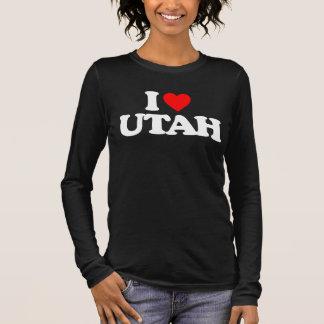 I LOVE UTAH LONG SLEEVE T-Shirt